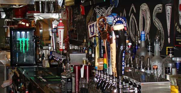 bar and tap handles