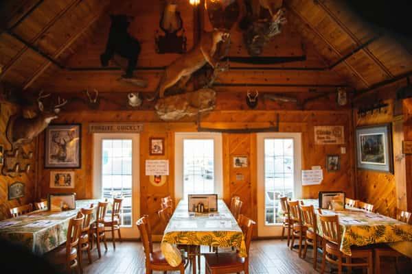 Dining Hall at Michael's Bridge Diner