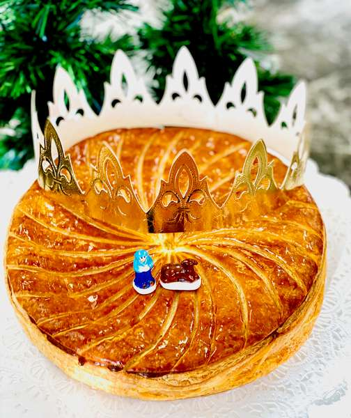 Galette des Rois (King Cake) 6 persons