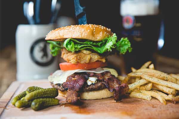Stein Burger*