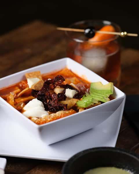 small tortilla soup