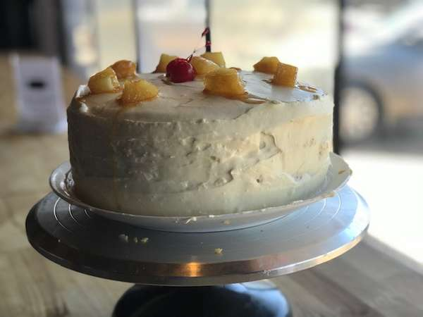 Caribou Lou Cake