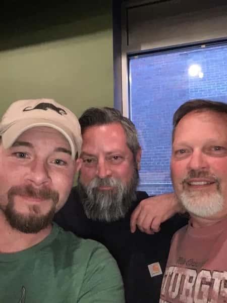 Brett, Wayne, and Kevin