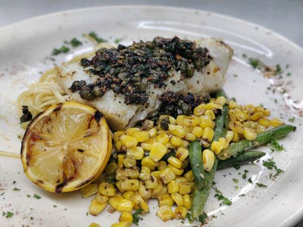Seared Cod Loin