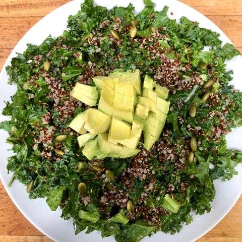 Kale & Herbed Quinoa Salad