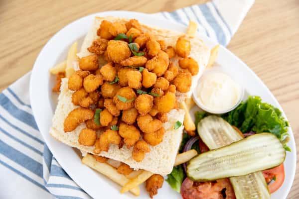 Deep Fried Shrimp Sandwich