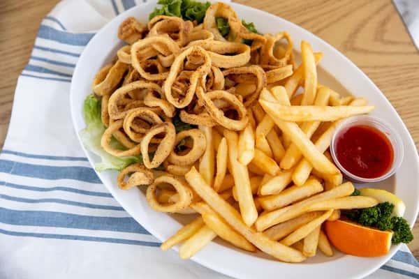 squid ring dinner