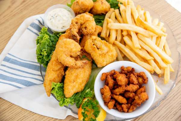 fish and chips combo plate