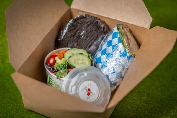 Box 3. Half Wrap/Side/Large Cookie