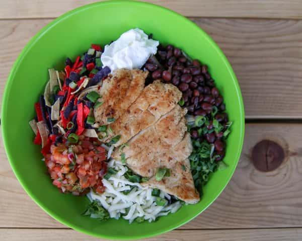 *Pollo Taco Salad
