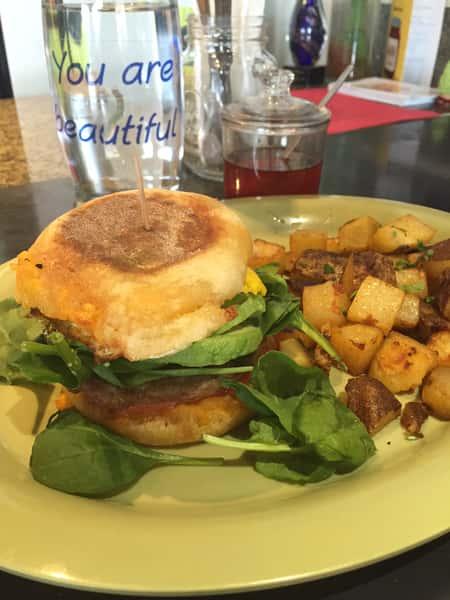 *Great Full Breakfast Sandwich