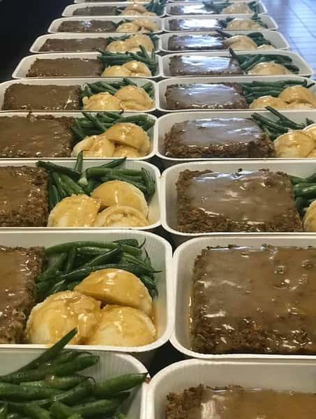 Vegan Meatloaf Dinner for 2