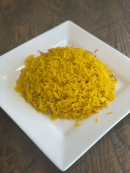 Yellow Rice Plate