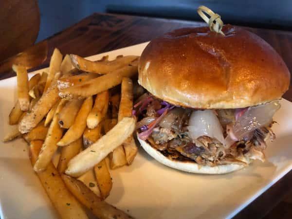 Kalua Pork Sandwich