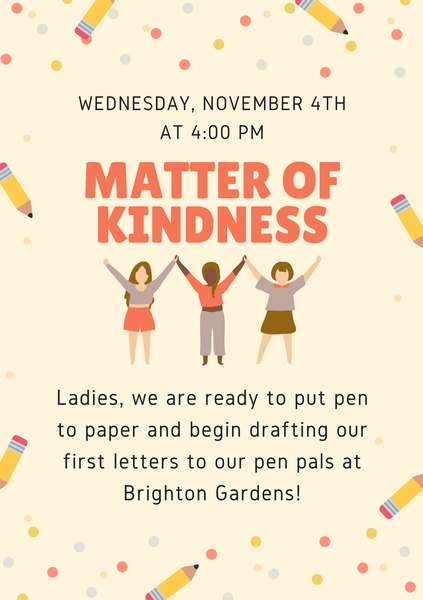 Matter of Kindness previous event