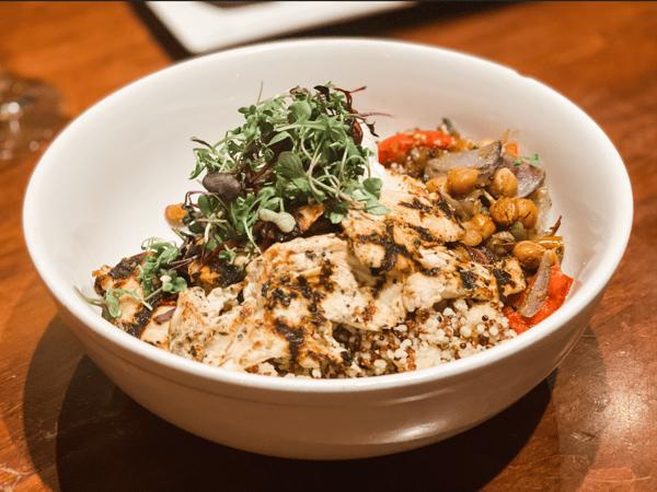 Mediterranean Grilled Chicken Bowl