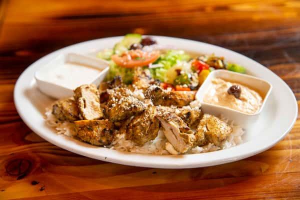 Chicken Kabab Platter