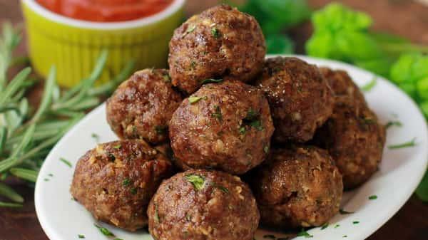 Side of Homemade Meatballs