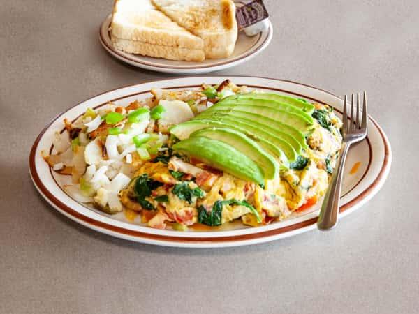 Spinach Supreme Omelette