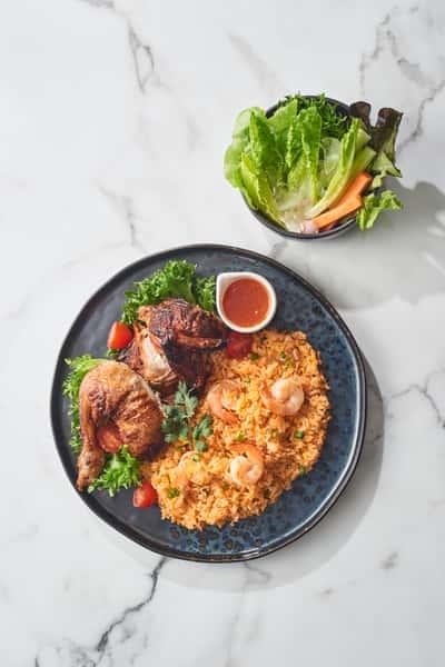 L-1 B.B.Q. Chicken Lunch
