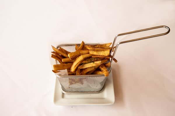 Plantain Truffle Fries