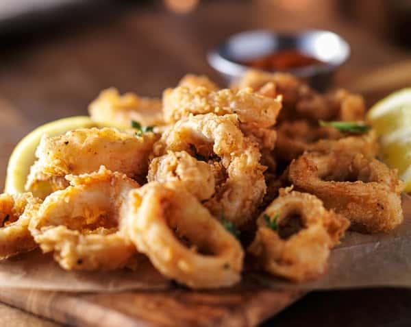 Crisp Chili Calamari