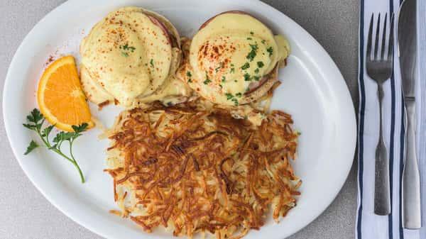 Goldenwest Diner Eggs Benedict