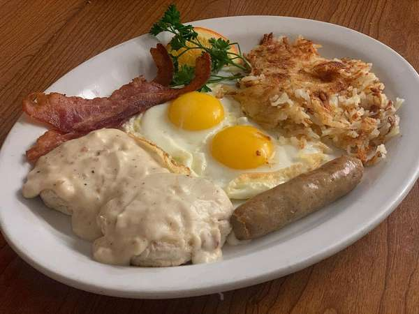 Biscuits and Gravy platter
