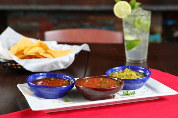 Pick one salsa + chips