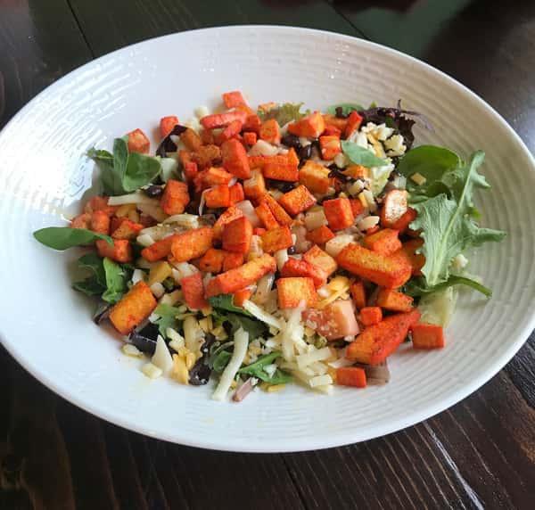 Tofu Asado Salad