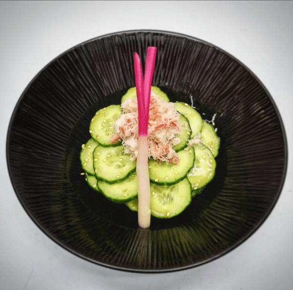 Cucumber Sunomono Salad