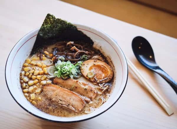 Burnt Garlic Tonkotsu Ramen