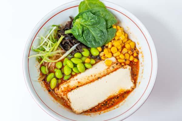 Vegetarian Spicy Miso Ramen