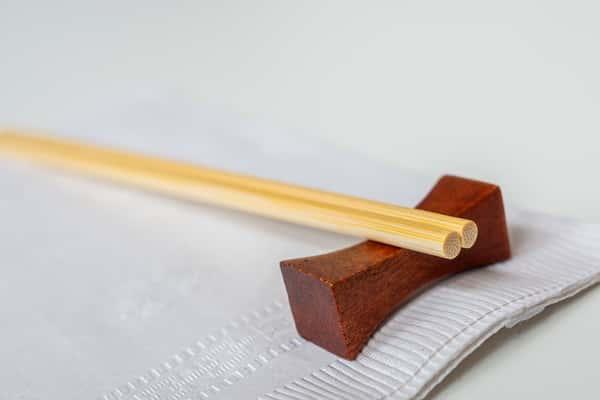 Chopstick place setting