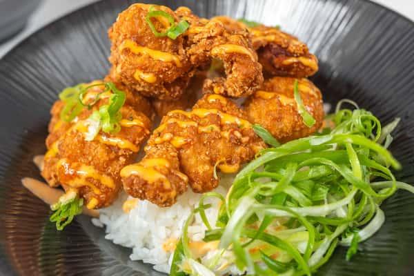 Chicken Karaage Don