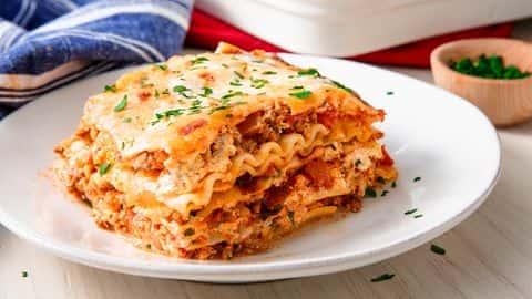Hearty Beef Lasagna (to reheat)