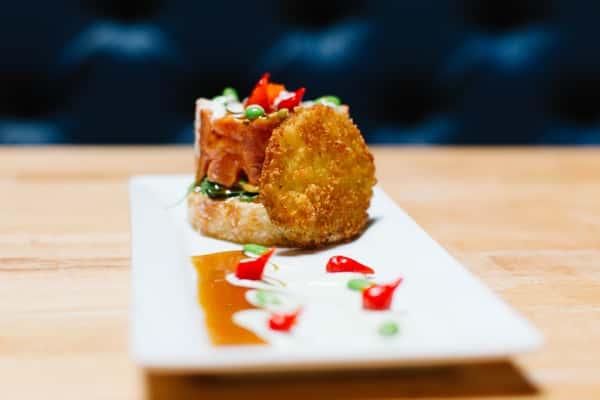 Spicy Tuna Sushi Round