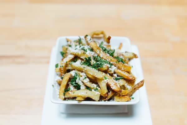Truffle Cotija Fries