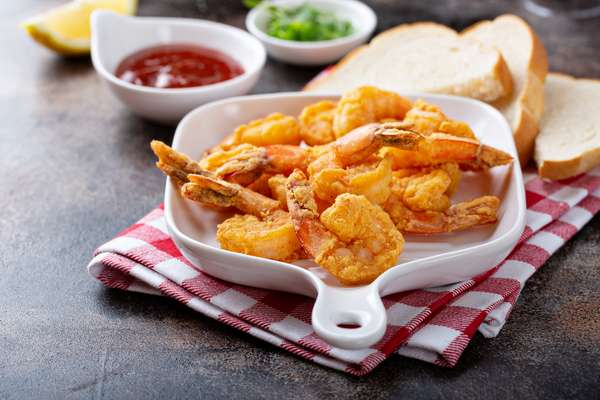 Fried Shrimp Plate