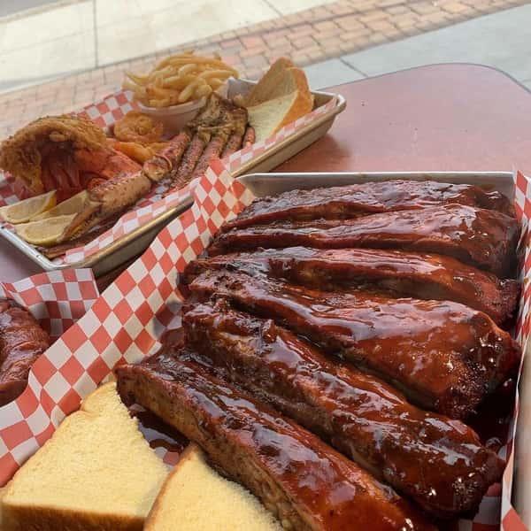 ribs tray