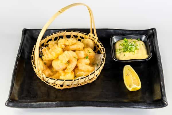 Popcorn Shrimp Tempura