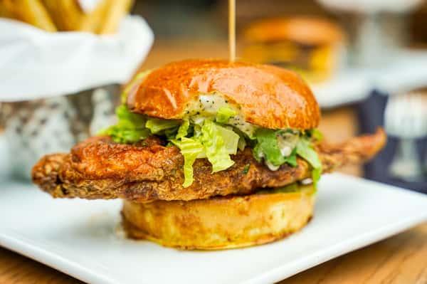 Nashville Style Hot Chicken Sandwich★