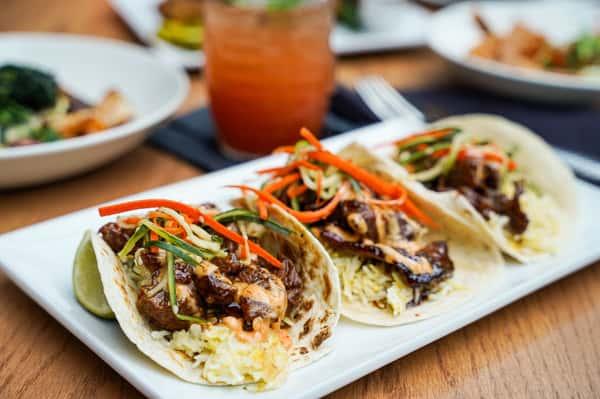 Hibachi Steak Tacos