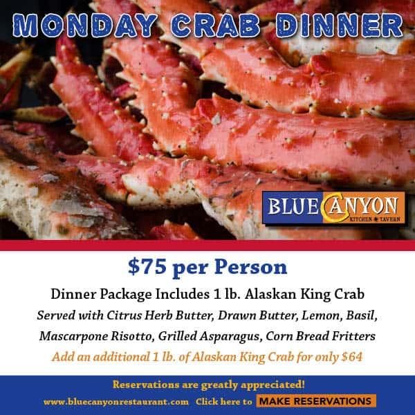 Monday Crab Dinner