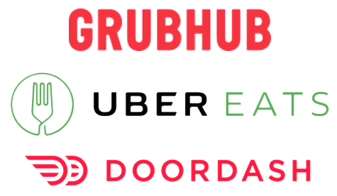 Delivery services logos