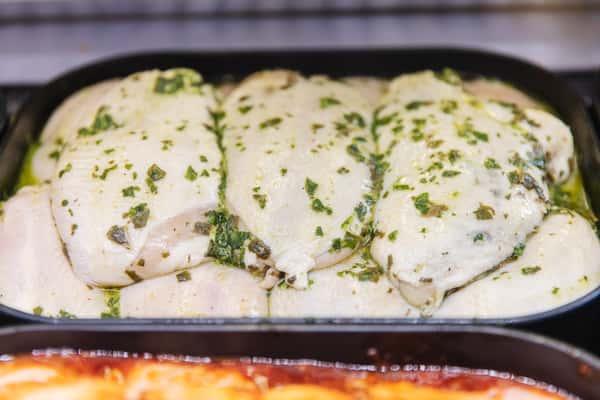 Pesto Marinated Chicken