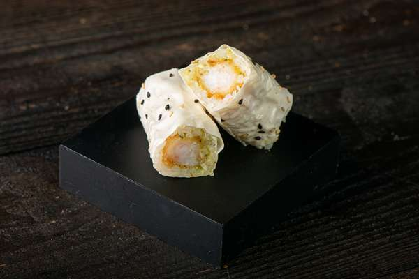 Crispy Shrimp Temaki