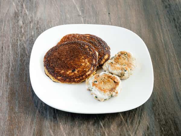 Keto Coconut Pancakes