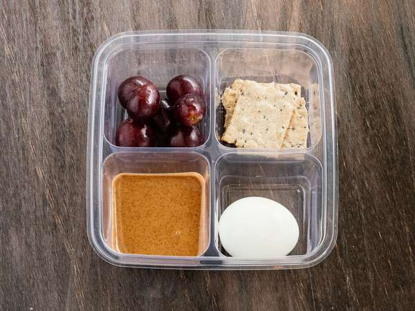 Egg & Almond Protein Snack Box