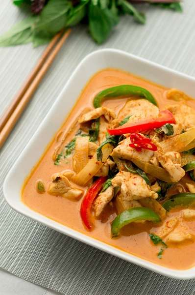 Noodle in Red Curry